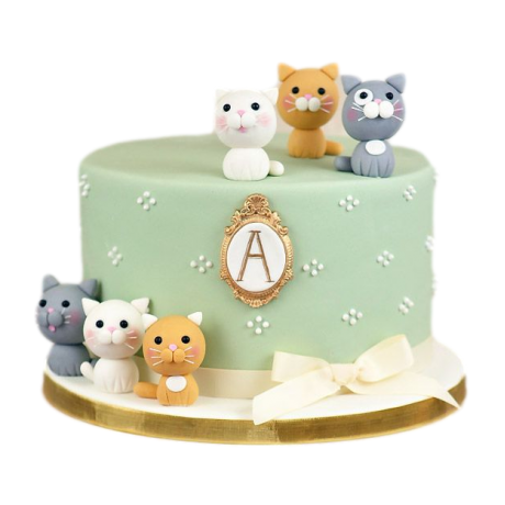 cake with cats 2 6