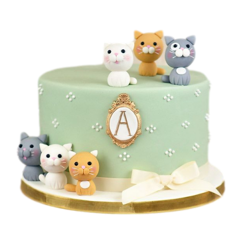 cake with cats 2 7
