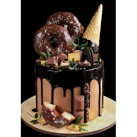 dripping fantasy cake 5 6