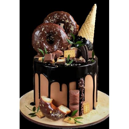 dripping fantasy cake 5 7