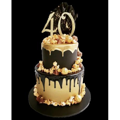 40th cake 4 6