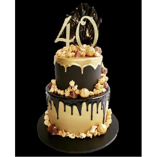 40th cake 4 7