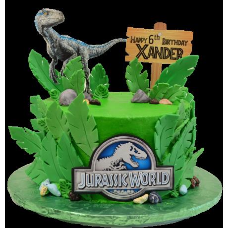 dinosaur jurassic cake 5 6