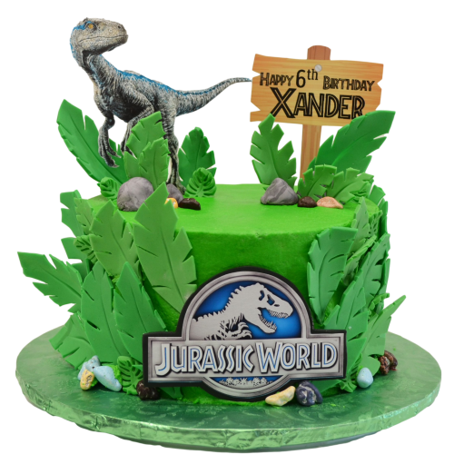 dinosaur jurassic cake 5 7