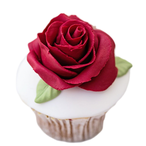cupcake with roses 2 7