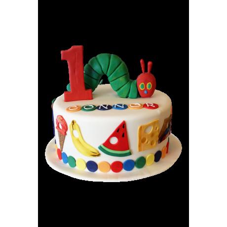 caterpillar cake 3 6
