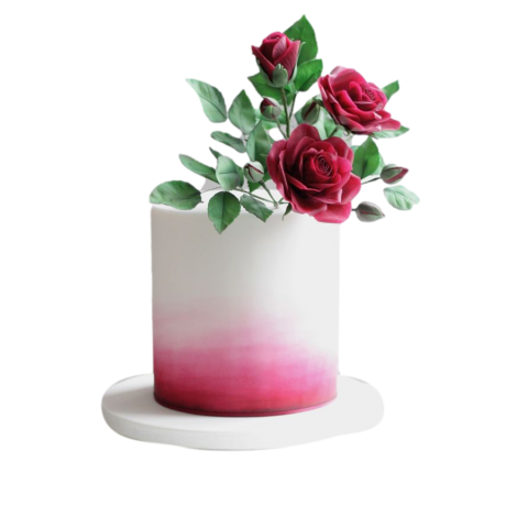 cake with red roses 3 6
