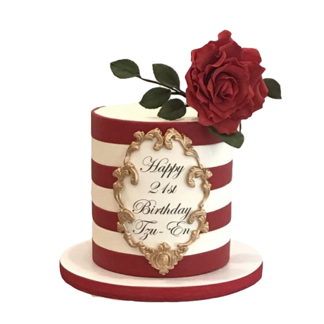 cake with roses 10 6