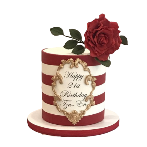 cake with roses 10 7