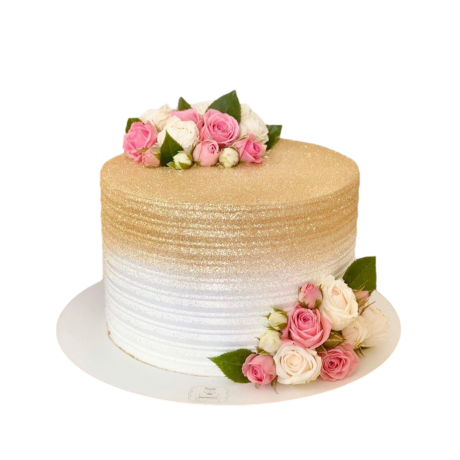 cake with roses 12 6