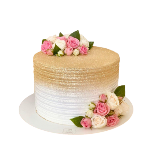 cake with roses 12 7