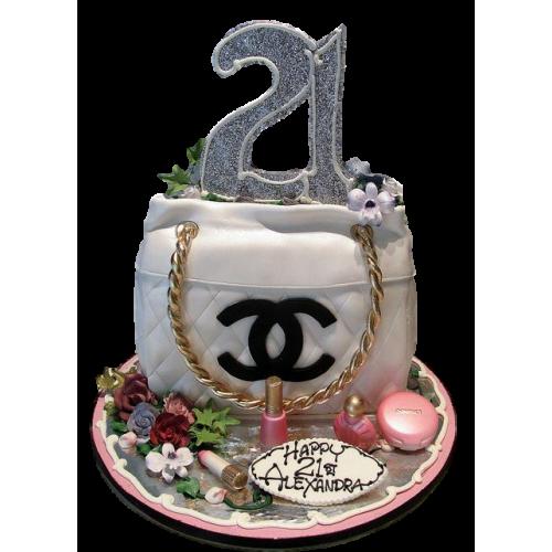chanel bag cake 8 7
