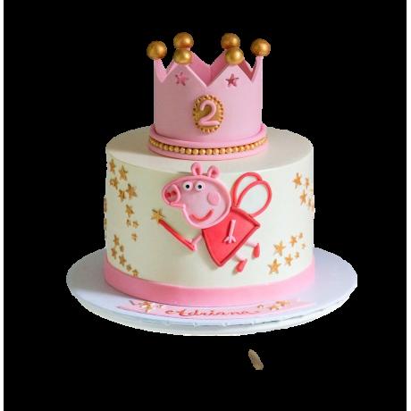 peppa pig cake 2 6
