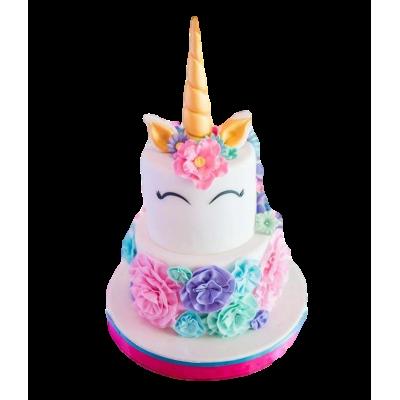 Unicorn cake 6