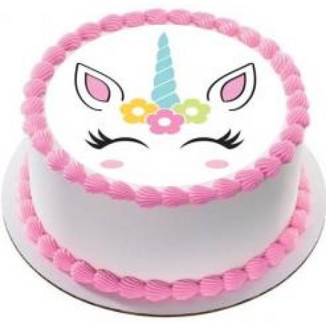 unicorn photo cake 12