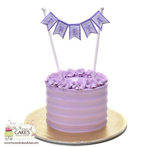 violet cream cake 7