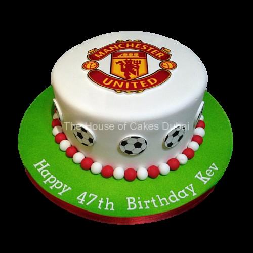 football cake 12 7
