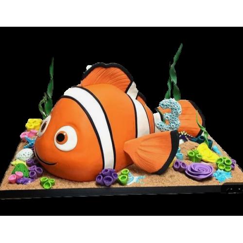 cake nemo 3d shape 7