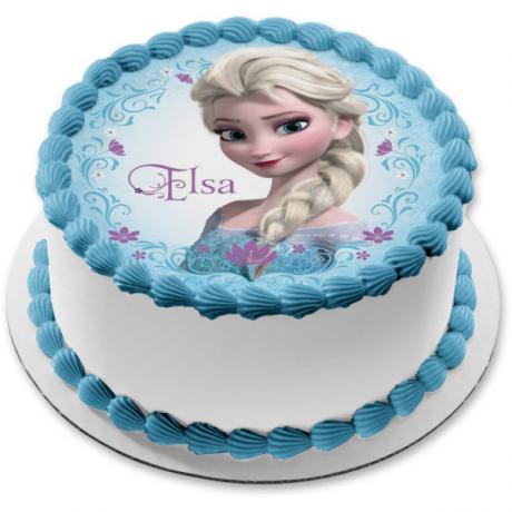 elsa cake 7 6