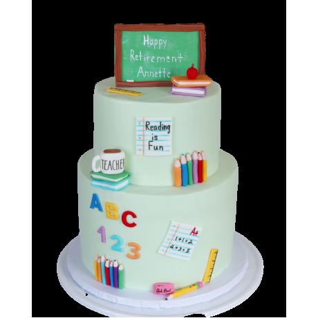 cake for a teacher 6