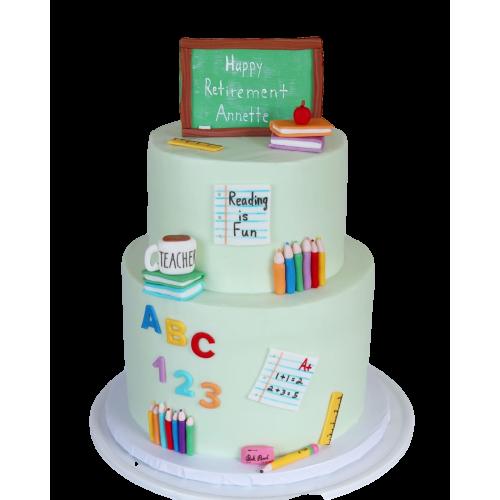 cake for a teacher 7