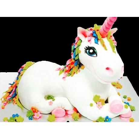 3d unicorn plush toy cake 12