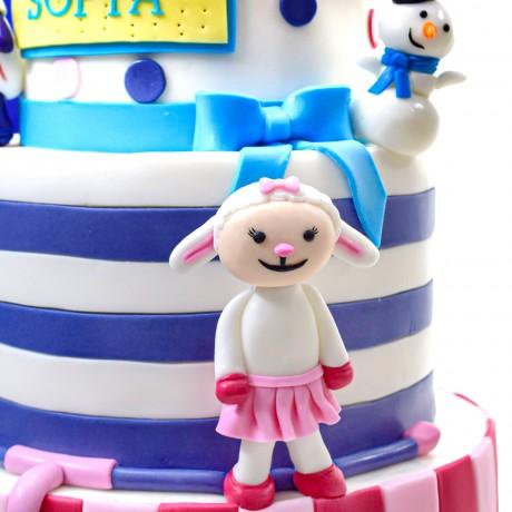 doc mcstuffins cake 1 8