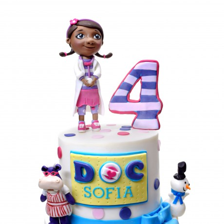 doc mcstuffins cake 1 7