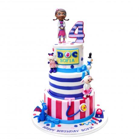 doc mcstuffins cake 1 6