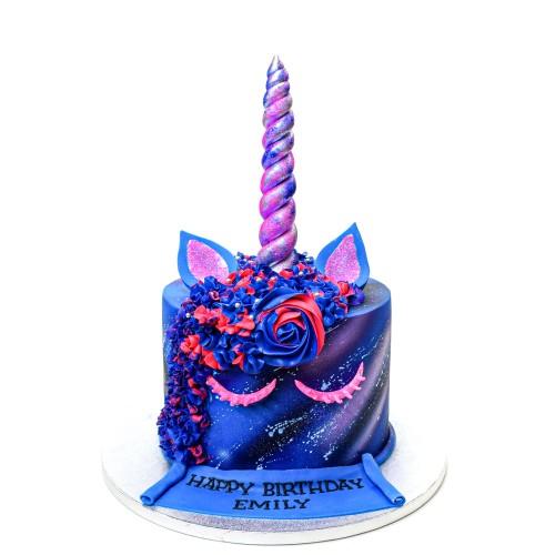 Galaxy Unicorn Cake 3