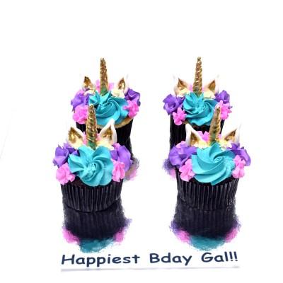 Unicorn cupcakes 4