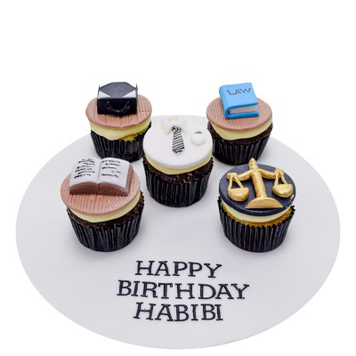 Cupcakes for lawyer