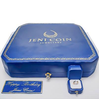 Jeni Coin Jewellery cake