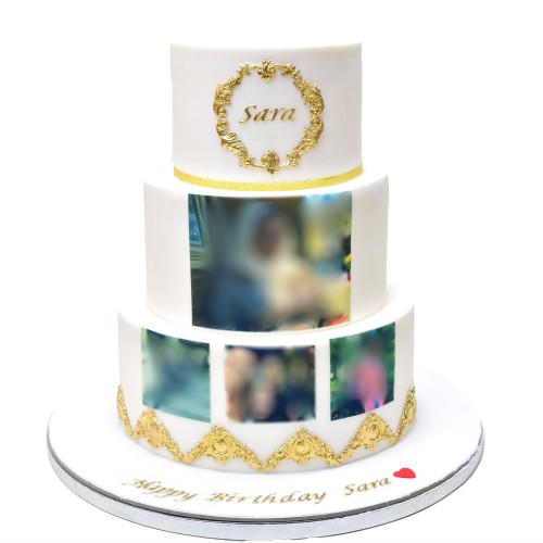cake with photo 5 7