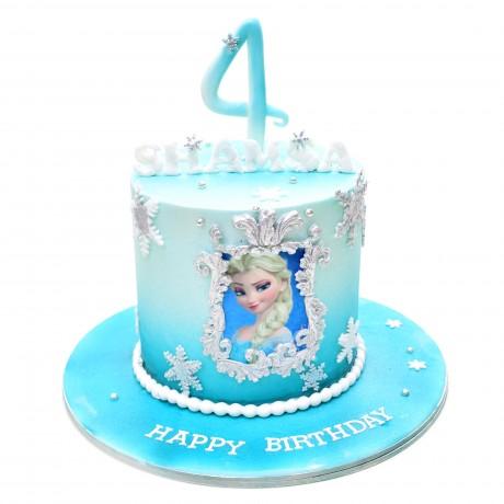 elsa cake 8 12