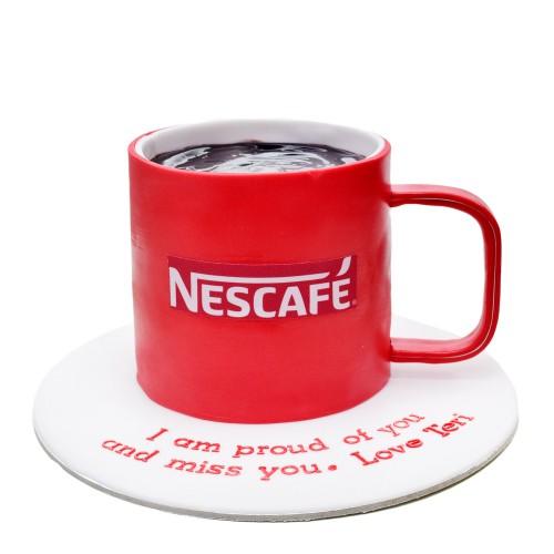 nescafe cup cake 7