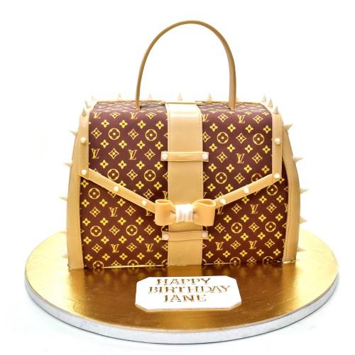 Shop in Style - Louis Vuitton Handbag Cake