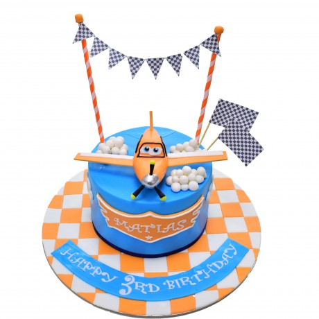 dusty plane cake 3 6