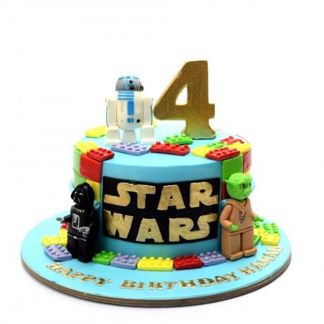 star wars lego cake 3 6
