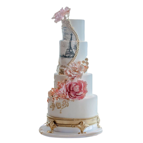 eiffel tower cake 3 7