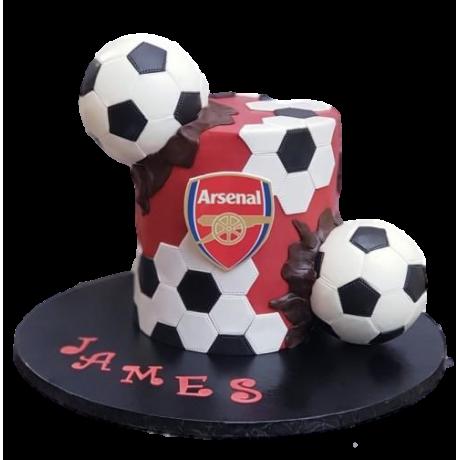 arsenal cake 3 6