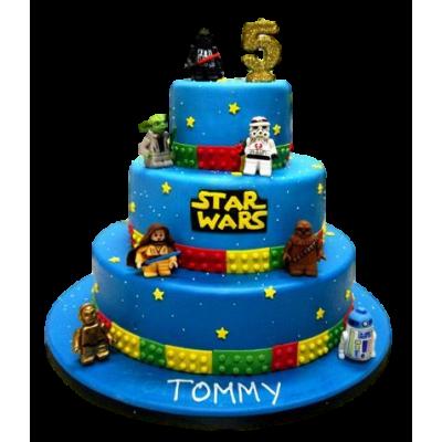 Star wars lego cake 2