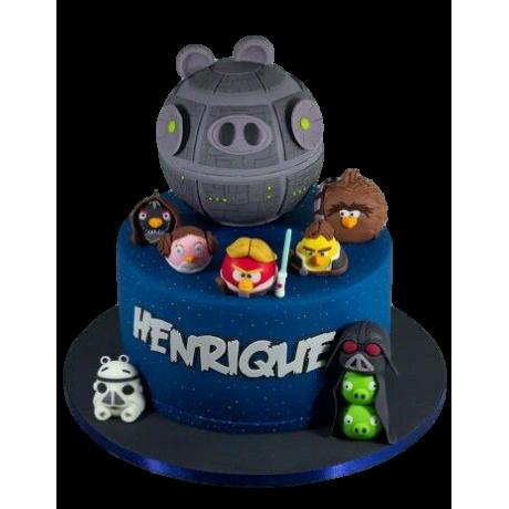 angry birds star wars cake 2 6