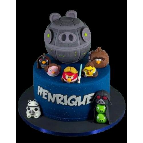 Angry birds Star Wars cake 2