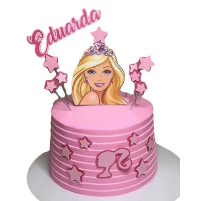 Barbie cake 19