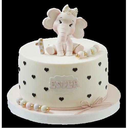 cake with elephant 7