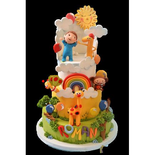 baby tv cake 4 7