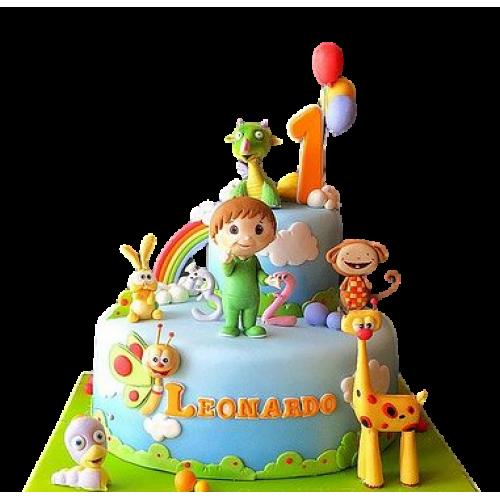 baby tv cake 8