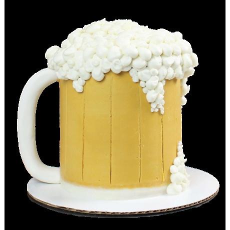 beer mug cake 6 6