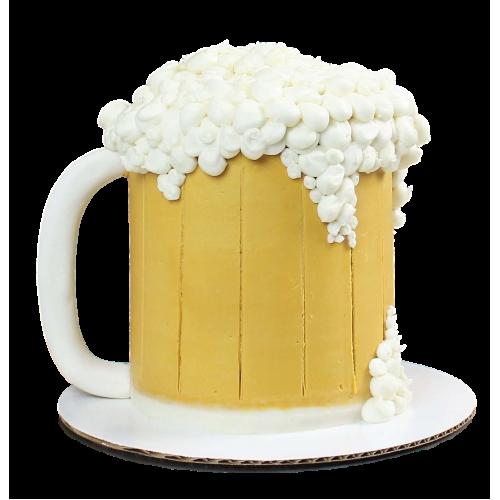 beer mug cake 6 7